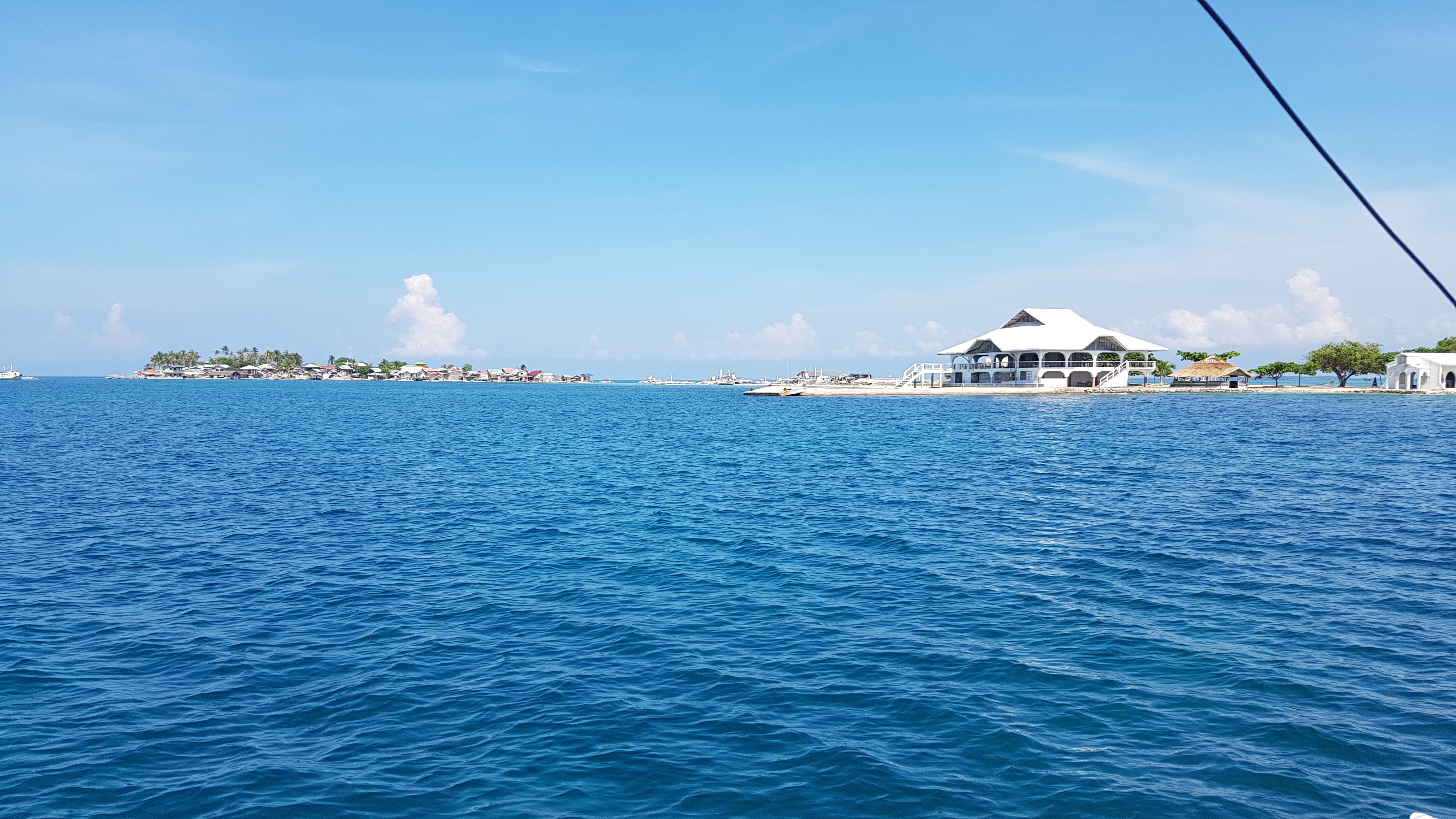 Approaching an island